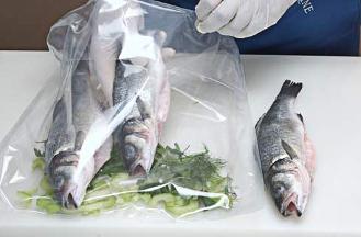 Вакуумные пакеты для стерилизации рыбы